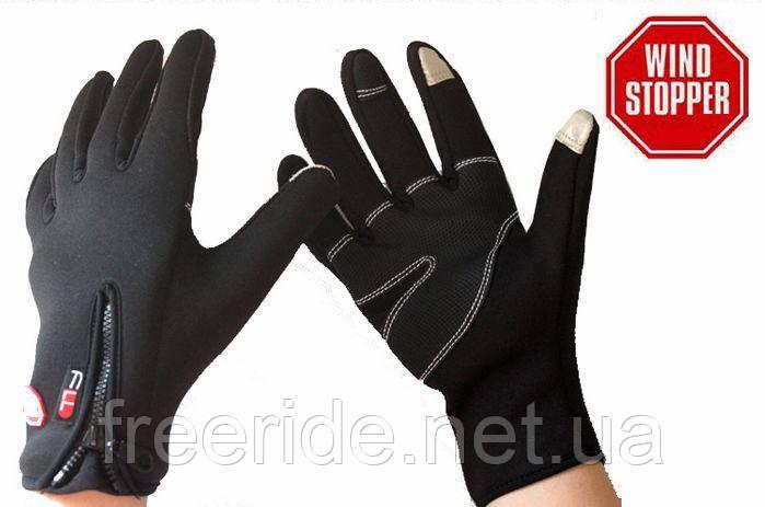 Теплые перчатки FLL для сенсорных устройств WindStopper (L)