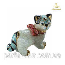 Фигурка De Rosa Rinconada Cat with ribbon The Families Collection Кошка с бантиком F116