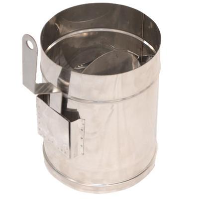 Регулятор тяги дымоходный нерж. ø250мм