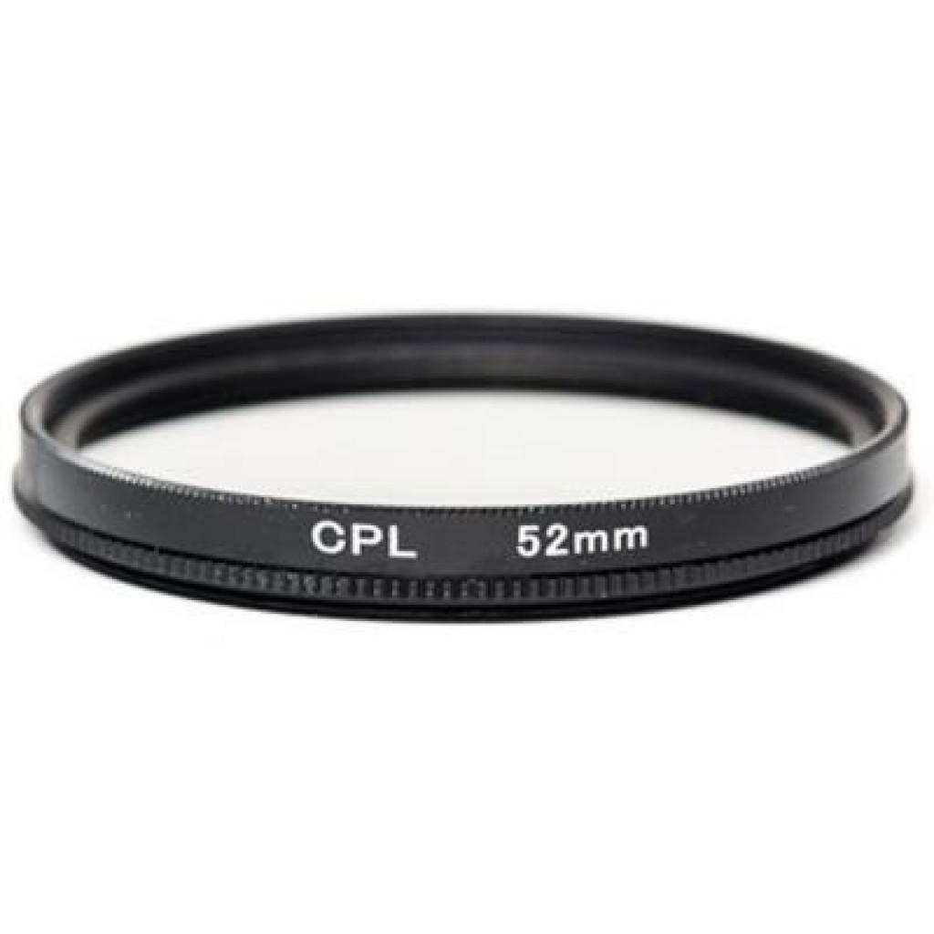 Светофильтр PowerPlant CPL 52 мм (CPLF52)