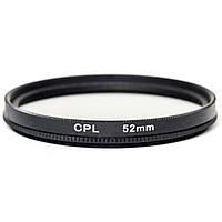 Светофильтр PowerPlant CPL 52 мм (CPLF52), фото 1