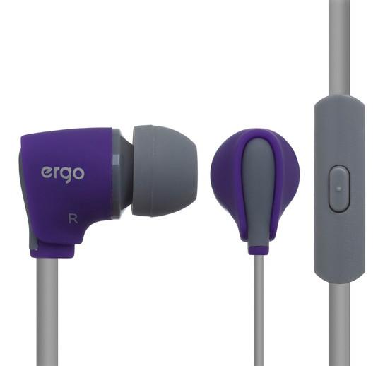 Наушники ERGO VM-110 Фиолетовый