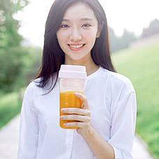 Фитнес-блендер Портативный Xiaomi 17PIN Juice cup Белый (YP-SKU3010325), фото 3