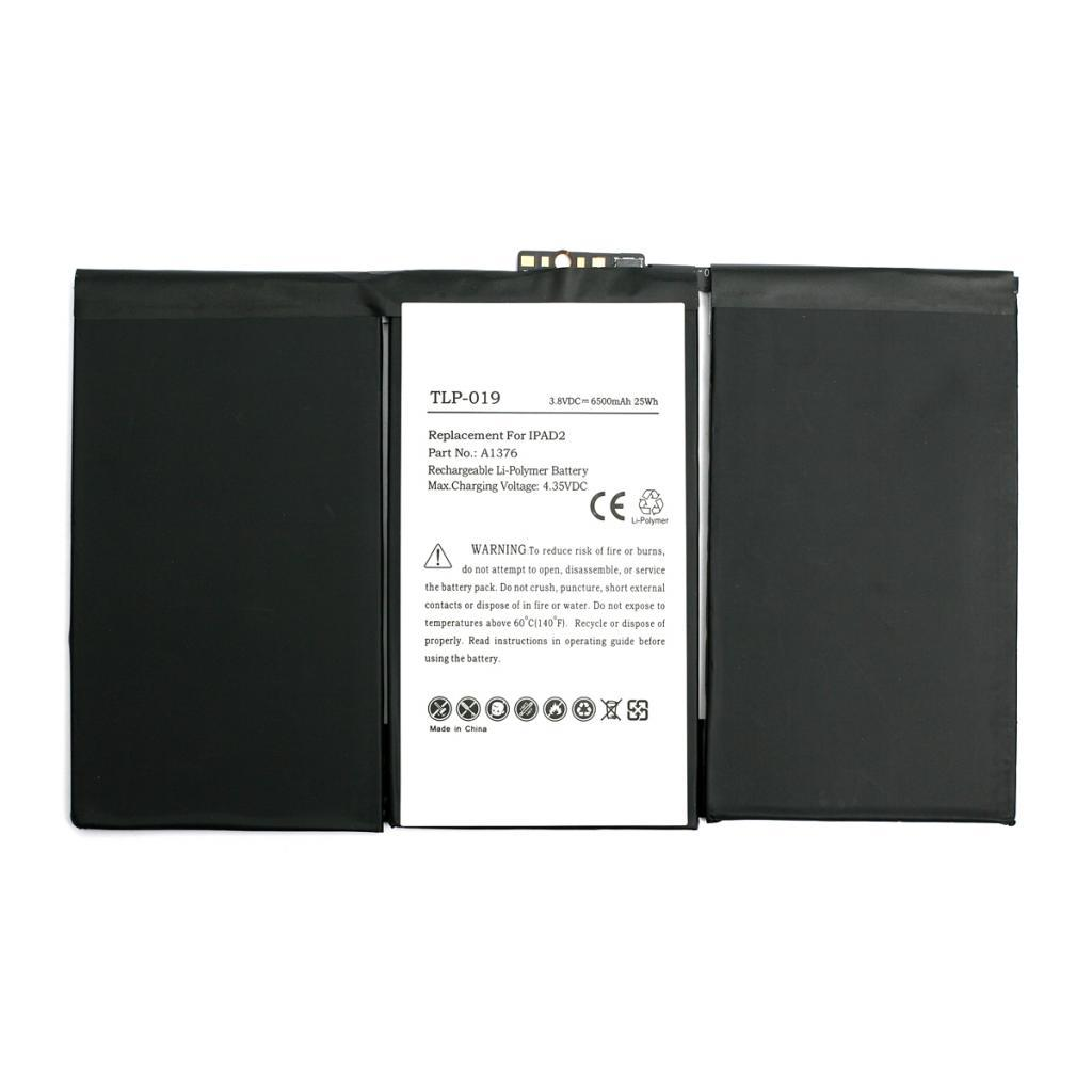 Аккумуляторная батарея PowerPlant Apple iPad 2 new 6500mAh (DV00DV6327)