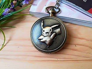 Часы Кулон Покемон  Пикачу  Pokemon, фото 2