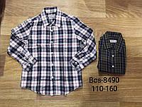 Рубашки для мальчика оптом, Glo-story, 110-160 рр., арт. BCS-8490