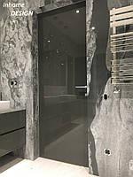 Двери скрытого монтажа  в полированной покраске
