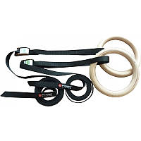 PS-4048 Кольца гимнастические Power System Gymnastic Wooden Rings