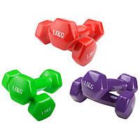Гантели для фитнеса 1,5кг 80040-V15