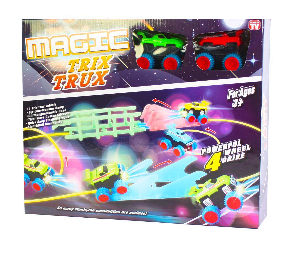 Монстер-Траки (Trix Trux) XL-111  + 2 машинки со светящимися фарами