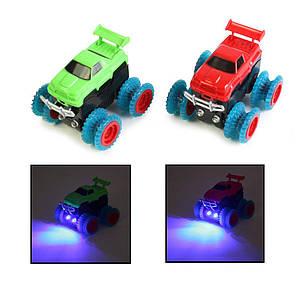 Монстер-Траки (Trix Trux) XL-111  + 2 машинки со светящимися фарами, фото 2