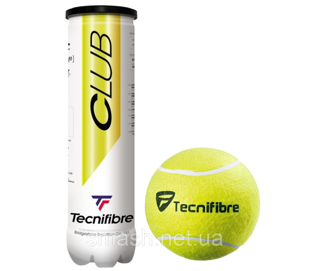 Теннисные мячи Tecnifibre Club  X4  72 мяча