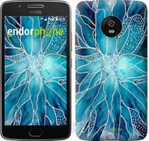 "Чехол на Motorola Moto G5 чернило ""4726u-832-535"""