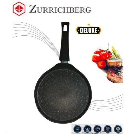 Сковорода блинная Zurrichberg ZB-2014 с мраморным покрытием, 24 см.