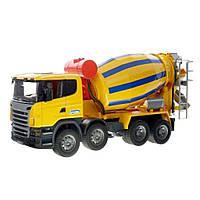 Спецтехника Bruder Бетономешалка Scania М1:16 (3554), фото 1