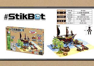 Stikbot studio  Стикбот студия Пиратский корабль JM-06A