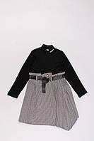 Утепленное платье для девочек (135-155)