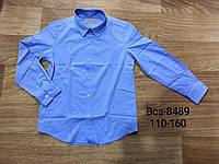 Рубашки на мальчика оптом, Glo-story, 110-160 см,  № BCS-8489