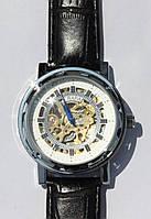 Механические часы Слава скелетон