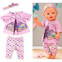 Комплект с повязкой для куклы «Baby Born бабочка» Zapf Creation T_823545