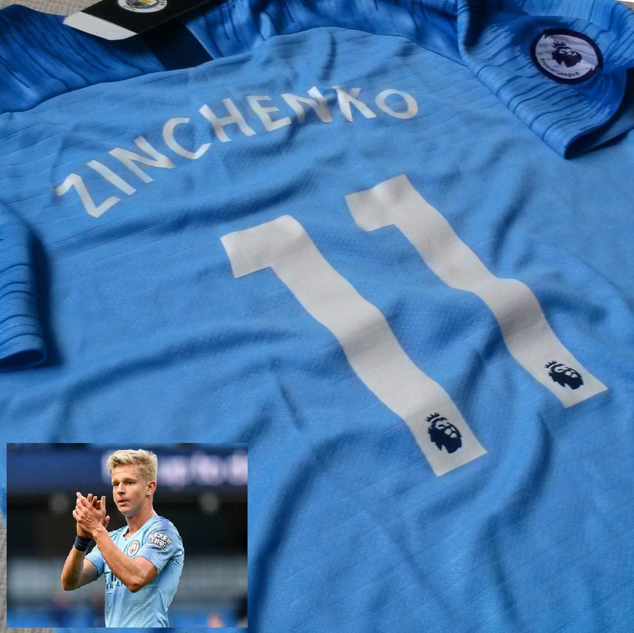 Детская футбольная форма Манчестер Сити #11 Александр Зинченко
