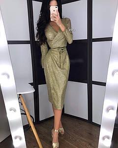 Платье вечернее люрексовое