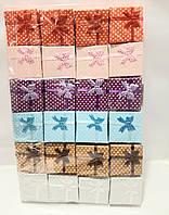 Подарочные коробки 4*4*2,5(24 штуки в упаковке)
