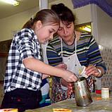 Школьный мастер-класс по изготовлению восковых свечей, фото 8