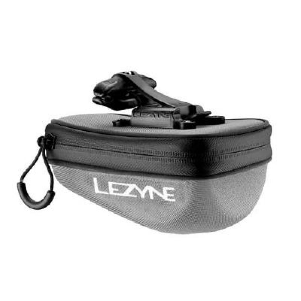 Сумка подседельная Lezyne POD CADDY QR - M серый/черный (4712805 979257)
