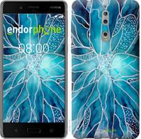 """Чехол на Nokia 8 чернило """"4726u-1115-535"""""""
