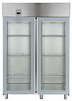 Двухдверный холодильный шкаф 1430 л, +2С/+10С, цифровой дисплей, н/сталь