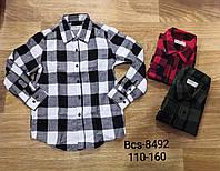 Рубашки на мальчика оптом, Glo-story, 110-160 см,  № BCS-8492