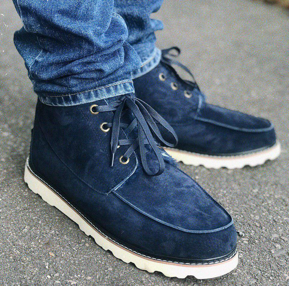 UGG David Beckham Boots Blue