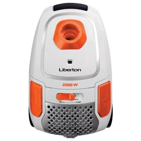 Пылесос мешковой LIBERTON LVC-2245B (2200Вт, всас. 350Вт)