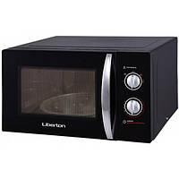 Микроволновая печь СОЛО LIBERTON LMW-2380M черная (23 литра)