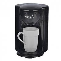 Кофеварка капельная HILTON KA-5413 черная (1 чашка)