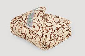 Одеяло IGLEN из овечьей шерсти в бязи Летнее 140х205 см Капучино 140205511B, КОД: 141662