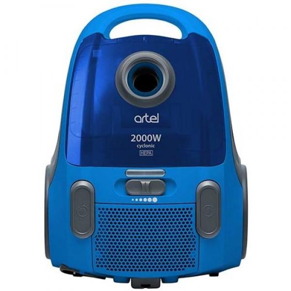 Пылесос контейнерный ARTEL VCC 0120 Blue (2000Вт,всасывание 420 Вт,контейнер 1,7л)
