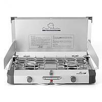 Газовая плитка Kovea Grace Twin Stove (AL II Chef Master) KB-0812 (8806372095437), фото 1