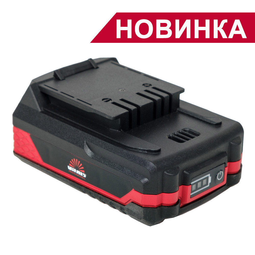 Акумуляторна батарея для шуруповерта акумуляторного Vitals ASL 1820 t-series ( AUp 18 / 0tli, AUpd 18 / 2tli)