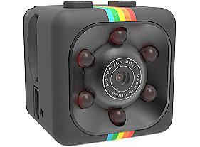 Спортивная Экшн камера Full HD 2 крепления SQ11 Mini DV черная