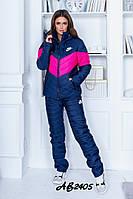 Зимний костюм штаны+куртка плащевка на 150-ом синтепоне+подкладка овчина батал размеры:42, 44, 46, 48