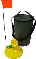 Набор оснащенных сумских зимних жерлиц, 10 шт. в сумке
