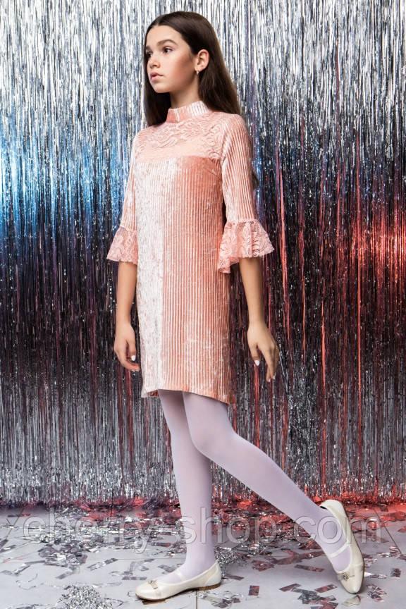 Ніжне велюрову сукню дитяче