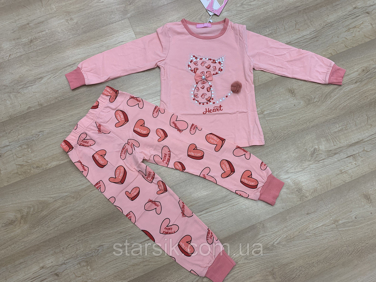 Пижама для девочек, Венгрия, Setty Koop, рр. 104-110, арт. PJM041