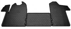 Коврики резиновые в салон Opel Movano 2010- (3 шт) Stingray 1018143