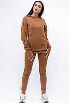 Женский свободный свитшот с капюшоном и карманами (Рокси ri), фото 2