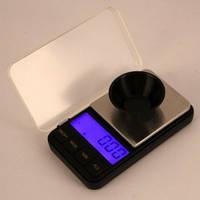Карманные ювелирные весы 6285 PA - 500 гр (от 0,01) +чашка