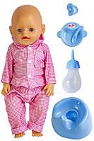 Кукла Baby Born (Бейби Борн) с аксессуарами, музыкальный горшок (В147)