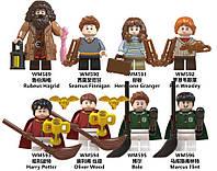 Фігурки Harry Potter Гаррі Поттер конструктор 8 шт набір New